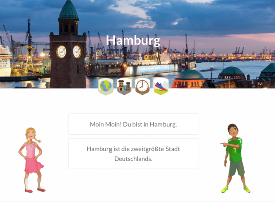 Postcard hamburg